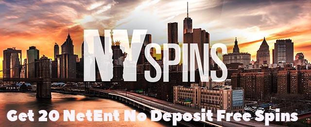 20 NetEnt No Deposit Free Spins