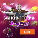 New King Billy Casino Bonus: 5 No Deposit Free Spins | 100% up to €200 + 200 Free Spins