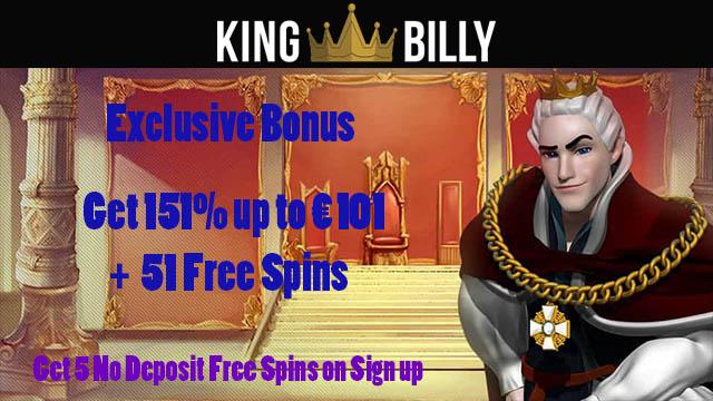 промокод kings billy