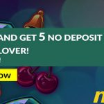 New Offer! Get 5 Noxwin No Deposit Free Spins ZERO wagering