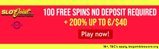 100 No Deposit Free Spins