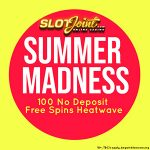 EXCLUSIVE 100 No Deposit Free Spins + 200% Bonus now available at SlotJoint