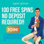 New Agent Spinner Casino Offer: Sign up for a whopping 100 No Deposit Bonus Spins!