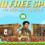 Wild Blaster Casino No Deposit Bonus now available. Get 20 No Deposit Free Spins on the Book of Dead Slot & 100% Bonus up to €500 on your first deposit.